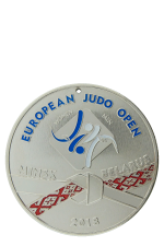 Медаль «European Judo Open 2018 II место»